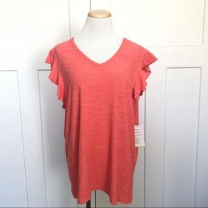 NEW | Old Navy Active Flutter Sleeve Athletic Top